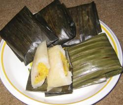 makanan khas indonesia - kue tradisional nagasari
