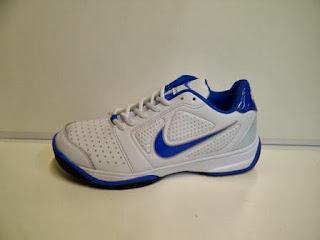 Sepatu Nike Tenis putih biru,Sepatu Nike Tenis murah
