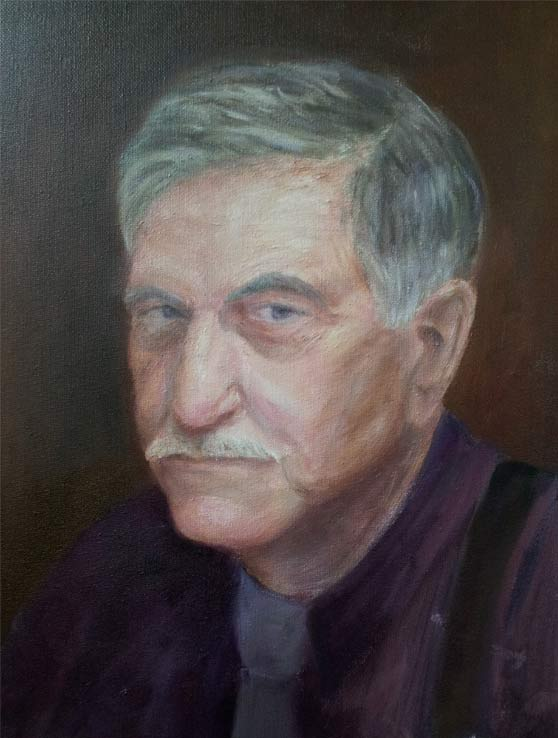retrato oleo sobre lienzo
