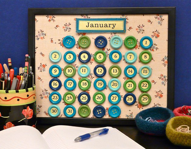 diy calendario perpetuo
