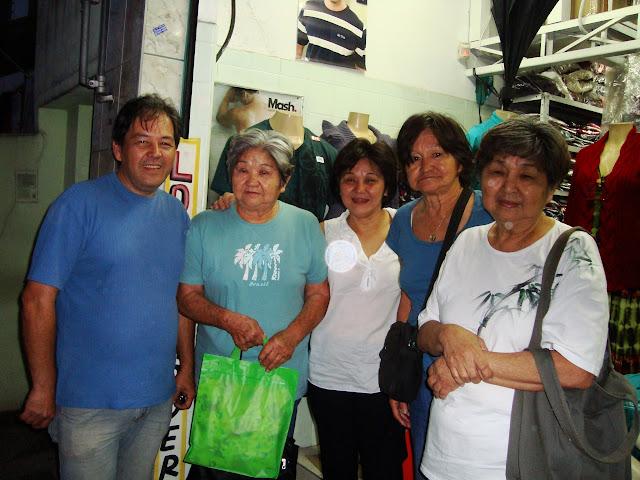 Visita da Família Ogawa nA Moderna