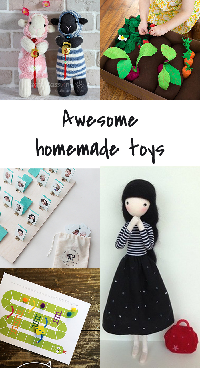5 DIY to try # Homemade toys