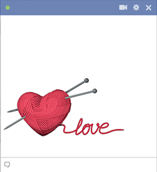 Knit with Love Icon