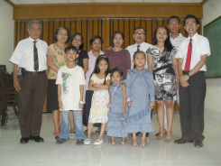 Our present big happy family