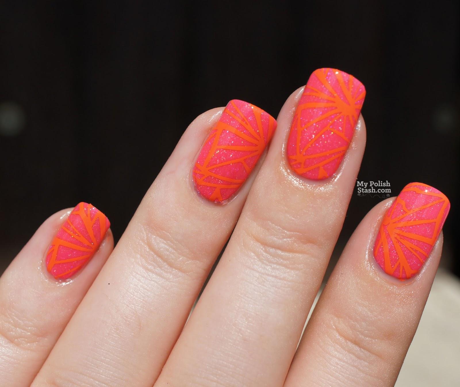 color alike stamping polish
