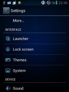 Cara Mengganti Tema Android, Blue Sky Theme, Theme Chooser