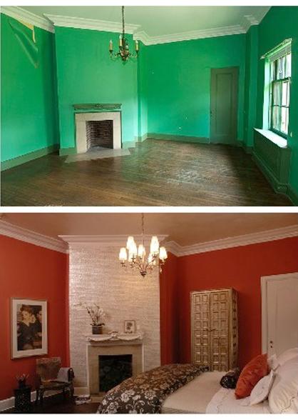 Ceiling fan designer social before after interior design for Interior design photos