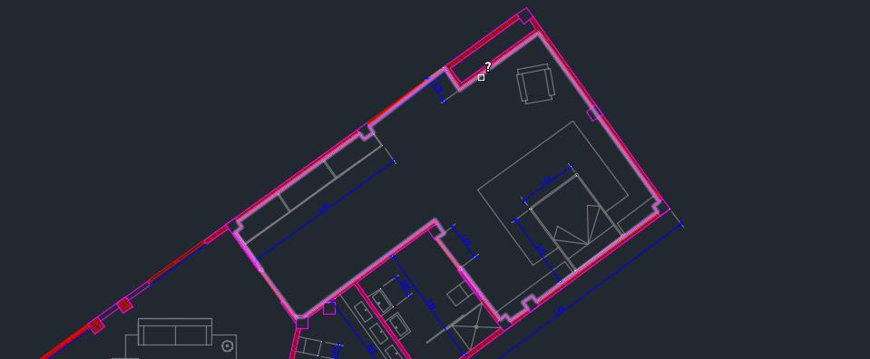 Rea de un objeto o polil nea en autocad recursos for Areas de una oficina