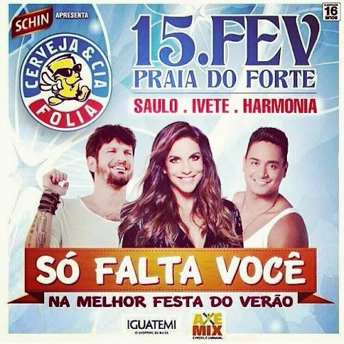 Saulo Fernandes convida fãs para micareta em Salvador