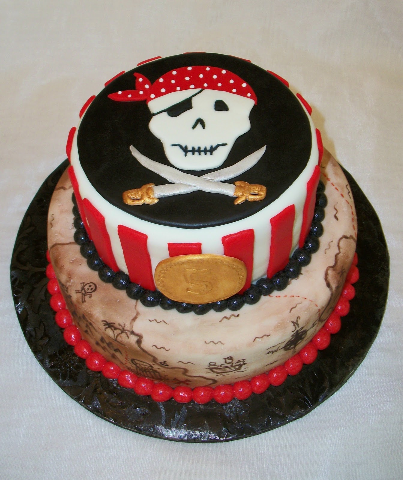 Images Pirate Birthday Cake : Bellissimo! Specialty Cakes: