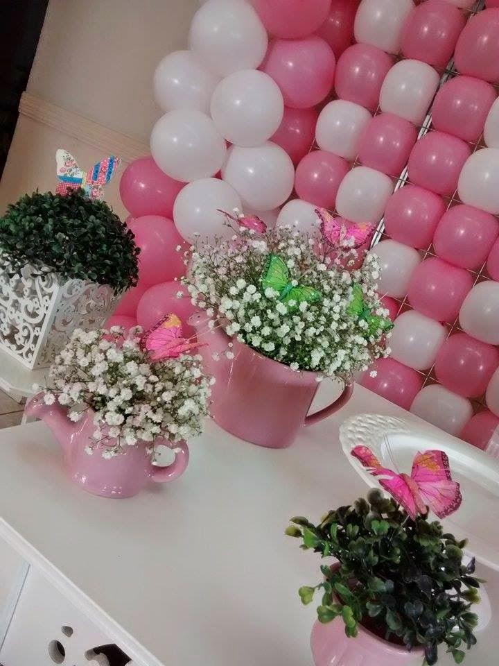 decoracao infantil jardim das borboletas:Borboletas, Festa Borboletas, Decoração Jardim, Decoração Jardim