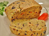 Pão de Azeitonas Pretas (vegana)