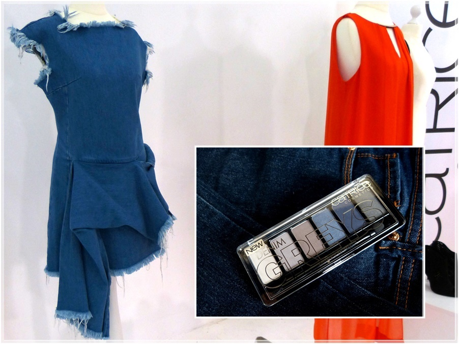 Denim Jeans Fashiontrend Kleid