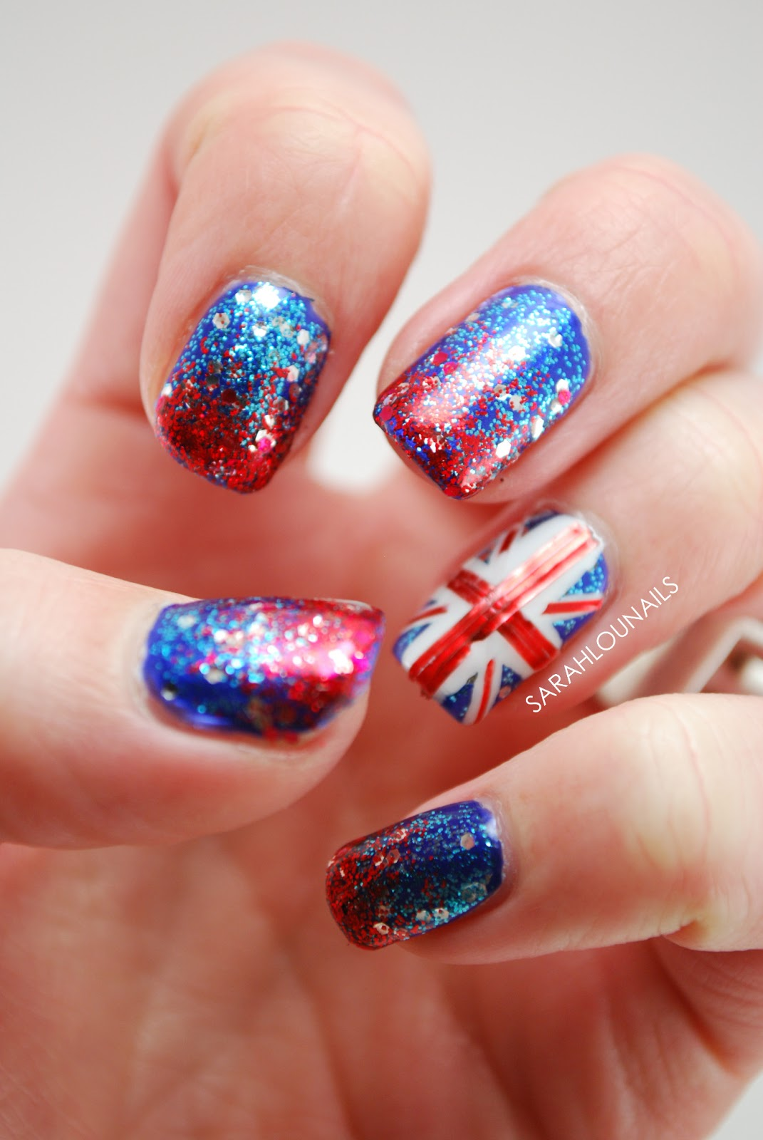 British Flag Nails Topsimages