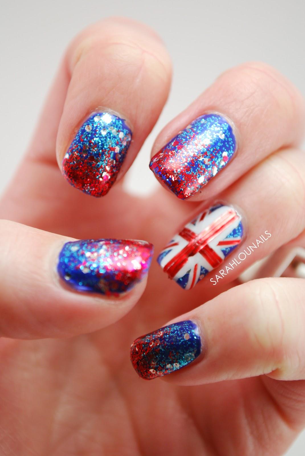 23 marvellous Union Jack Nail Art – ledufa.com