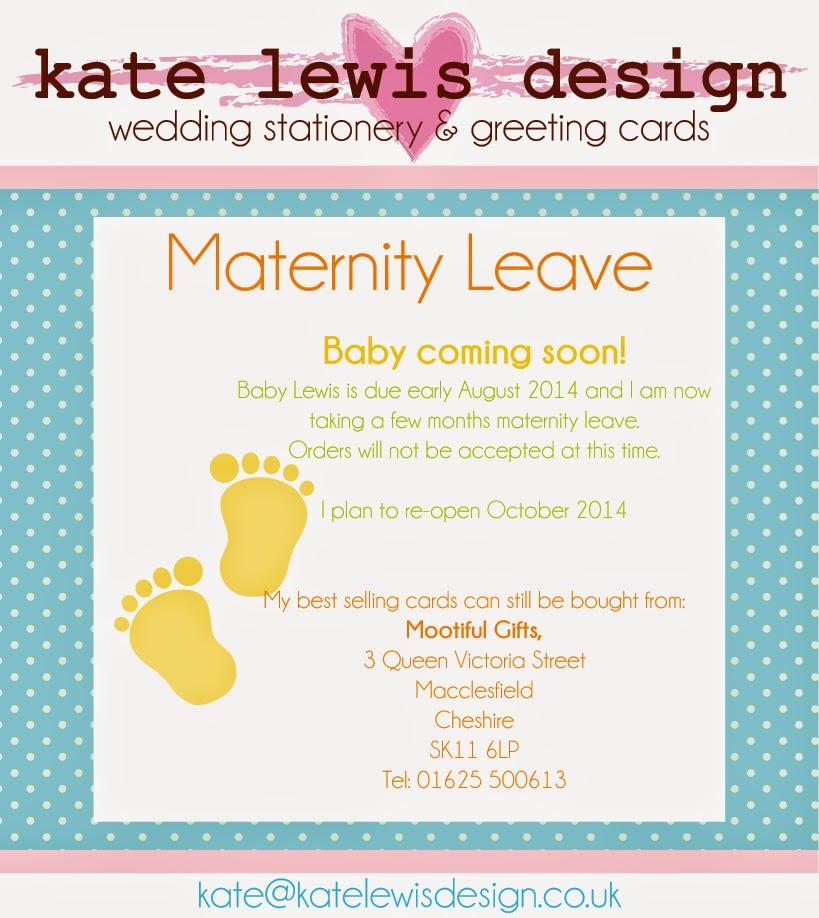 Kate lewis design maternity leave maternity leave altavistaventures Choice Image