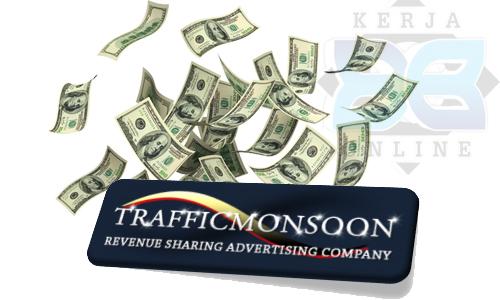 cara membuat akun di trafficmonsoon, cara mendaftar di trafficmonsoon, dollar gratis trafficmonsoon