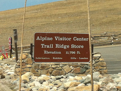 Alpine Visitor Center, Trail Ridge Store, Rocky Mountain National Park, Estes Park, CO #Colorado #ColorfulColorado www.thebrighterwriter.blogspot.com