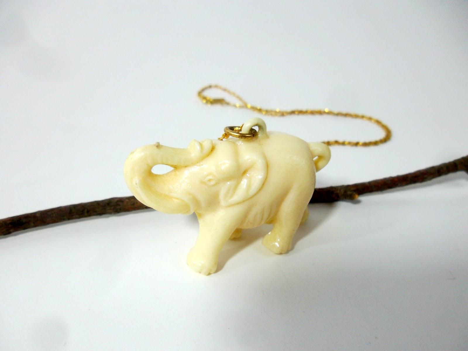 Safari Elephant Necklace