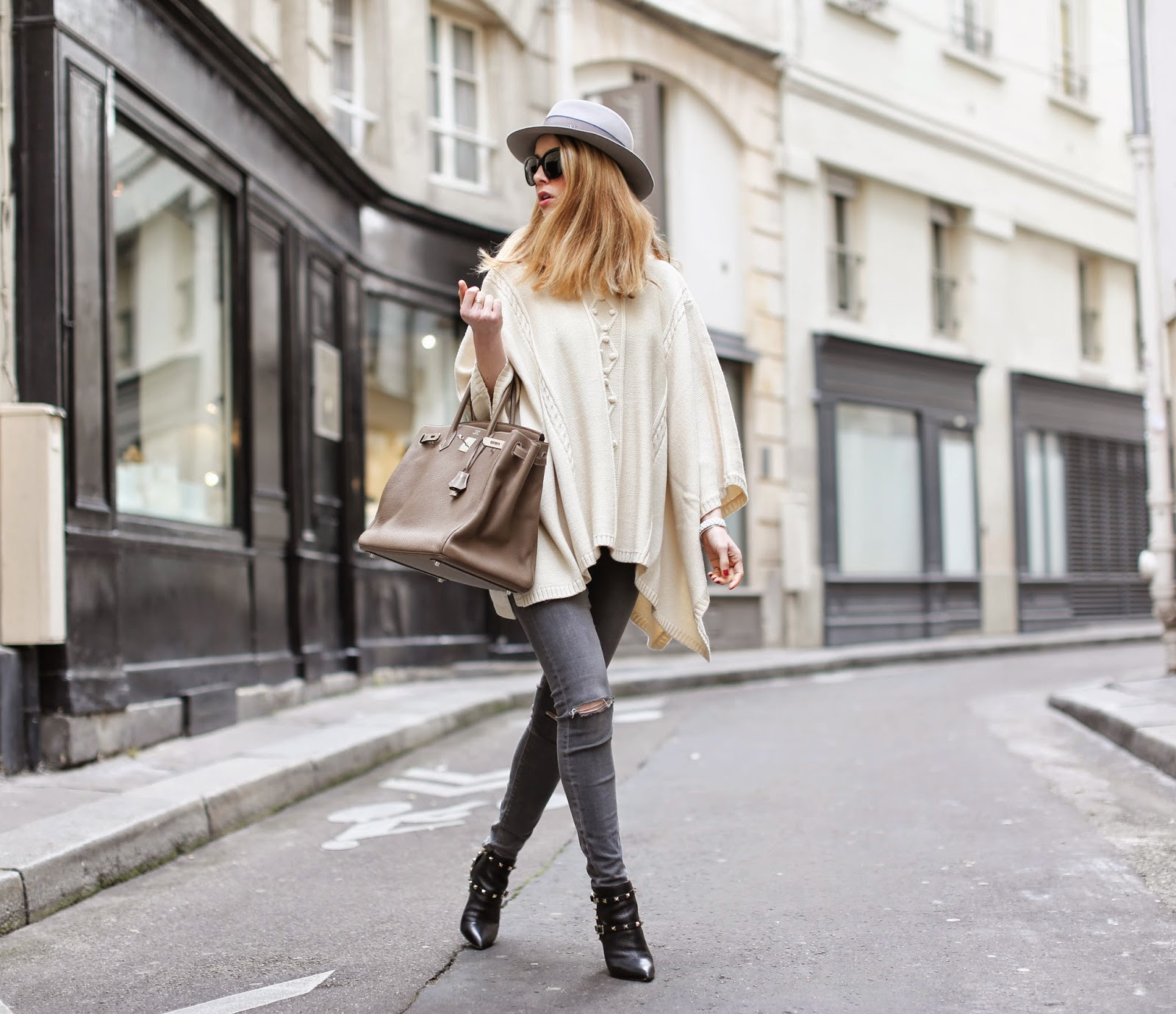 the outnet, temperley, valentino, birkin, maison michel topshop, saint germain paris, fashion blogger, streetstyle