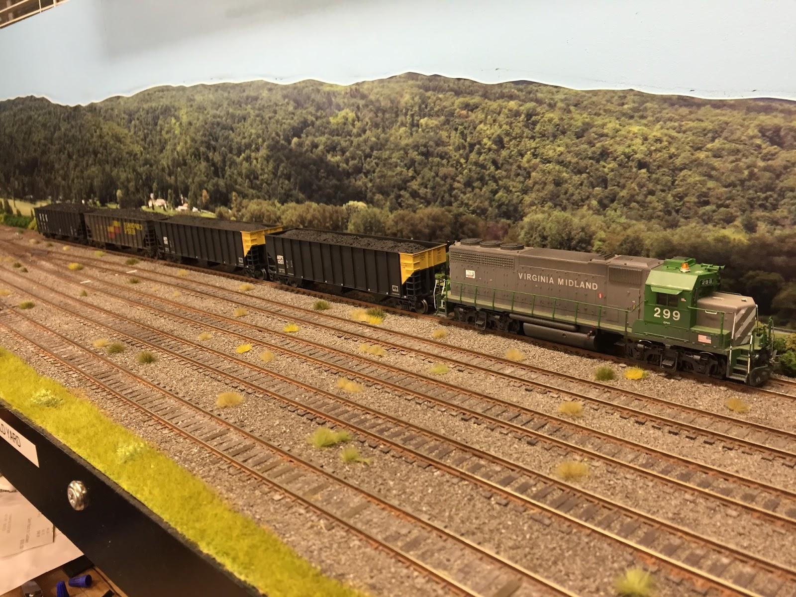 The Virginia Midland Ho Railroad Blog A Little Scenery