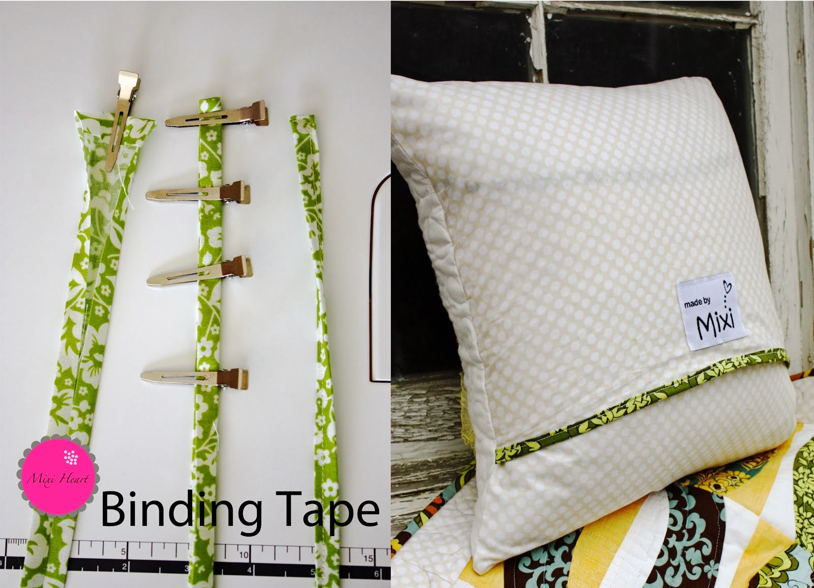 Binding Tape Tutorial