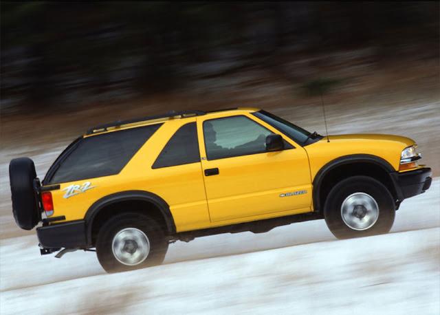 シボレー・S-10ブレイザー第2世代 | Chevrolet S-10 Blazer 1995-2005