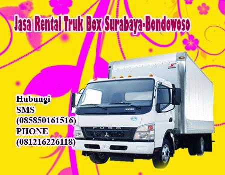Jasa Rental Truk Box Surabaya-Bondowoso