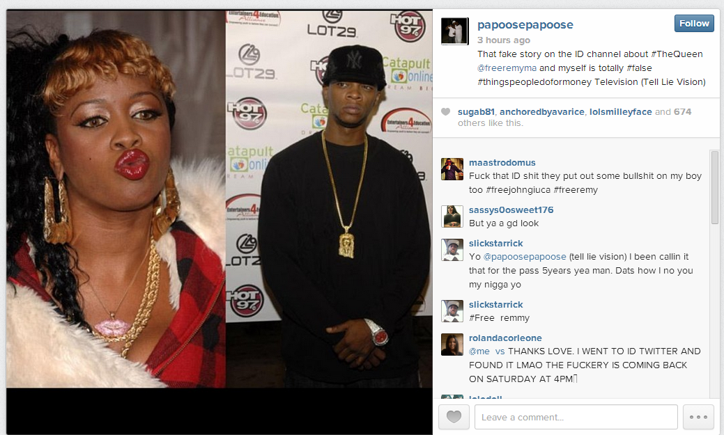Papoose And Remy Ma 2014   New Style for 2016-2017