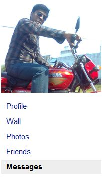 My downloaded profile