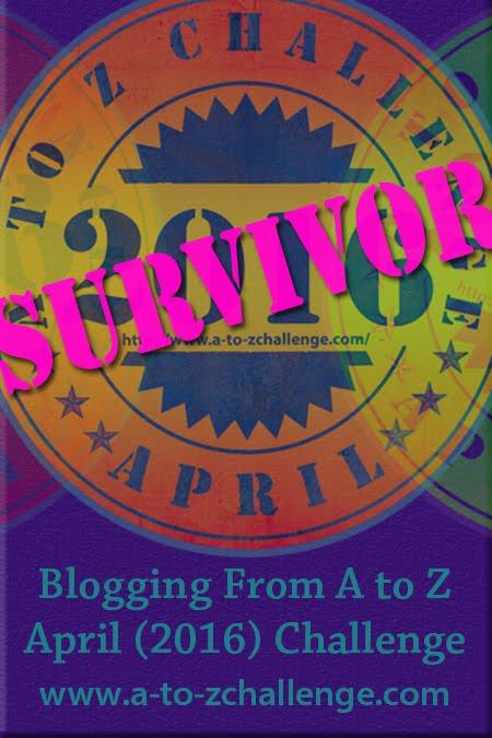 2016 April A to Z Blogging Challenge
