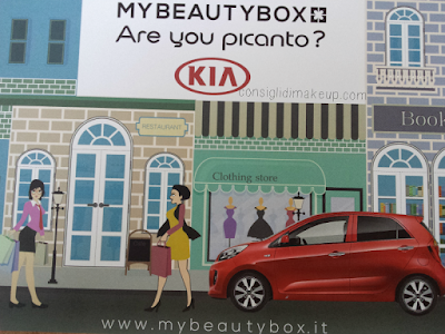 MyBeautyBox Giugno 2015: Are you picanto?