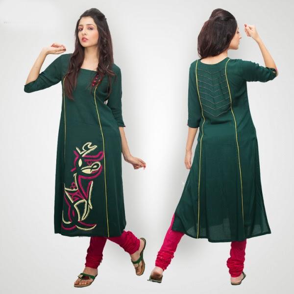 Latest womens winter dresses designs international for Dress dizain photo