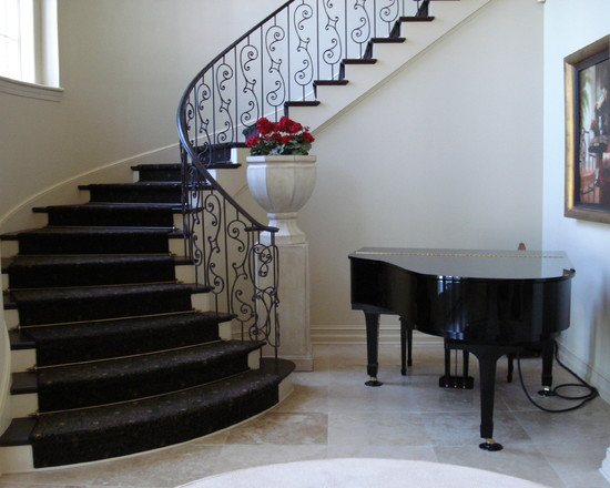 New home designs latest modern homes stair railing grill Steps design for home