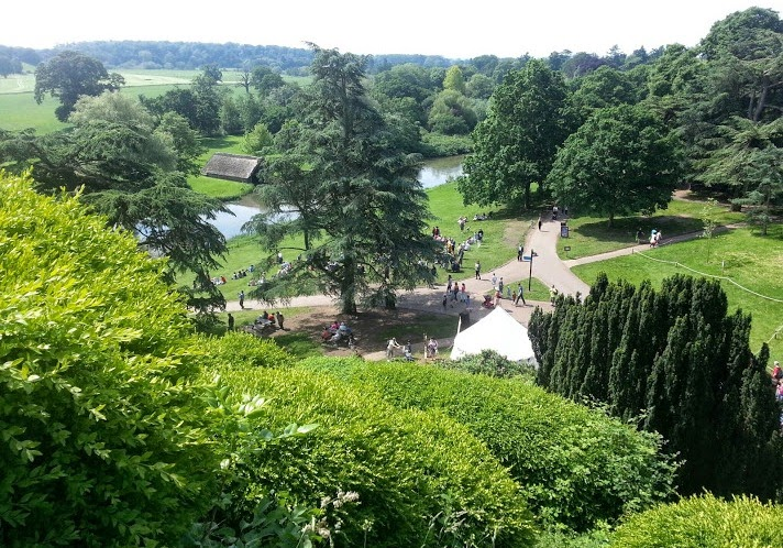 Warwick Castle Review - View of Trebuchet
