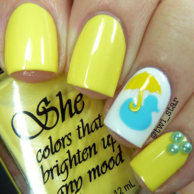 She Nail Polish Banana Cra-Cra polish swatch