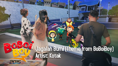 Download Mp3 Kotak - Jagalah Bumi (Theme from BoBoiBoy)