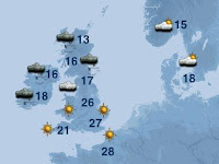 Weather forecast for Europe- Travel europe
