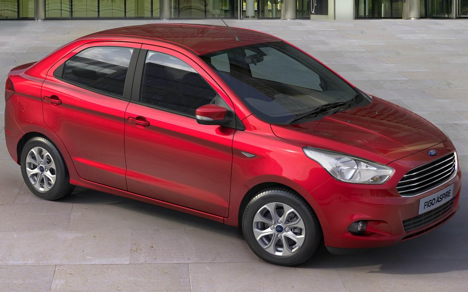 Novo Ford Ka+ Sedan - Figo Aspire