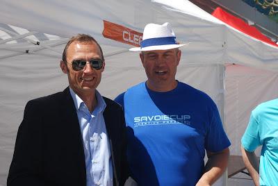 SAVOIECUP 2013 Jean-Paul Gonguet, Centre Porsche Annecy, Claude Varon Président Club Porsche