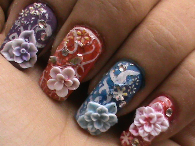 3d Nail Art Videos#%
