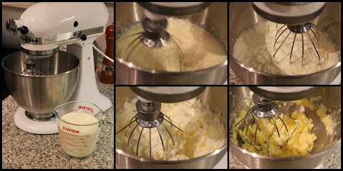 Steps for making homemade butter