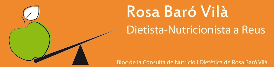 Rosa Baró Vilà. Dietista - Nutricionista a Reus