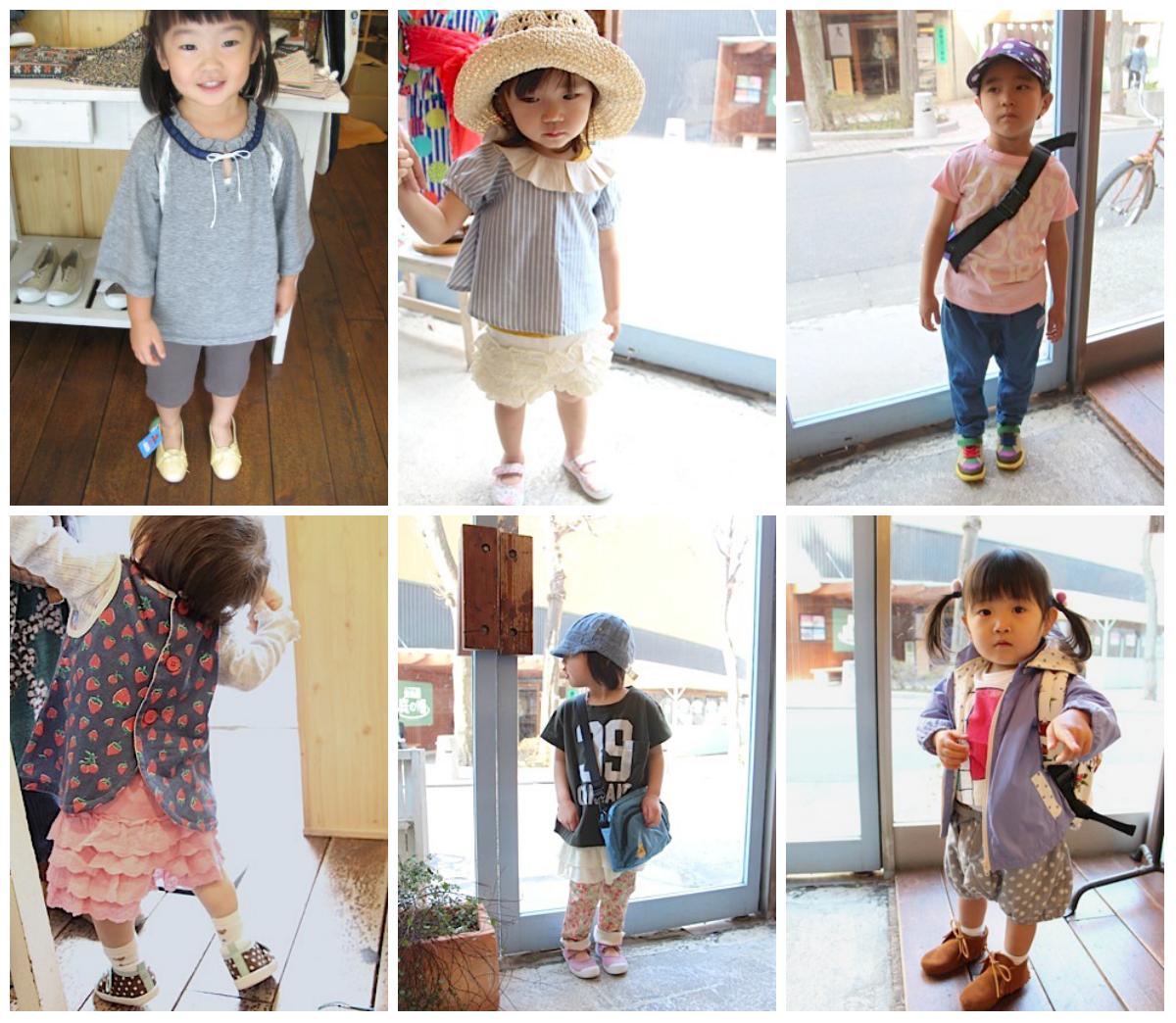 Японские дети, японский стиль в одежде