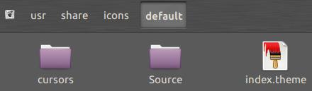 Colar dentro de default