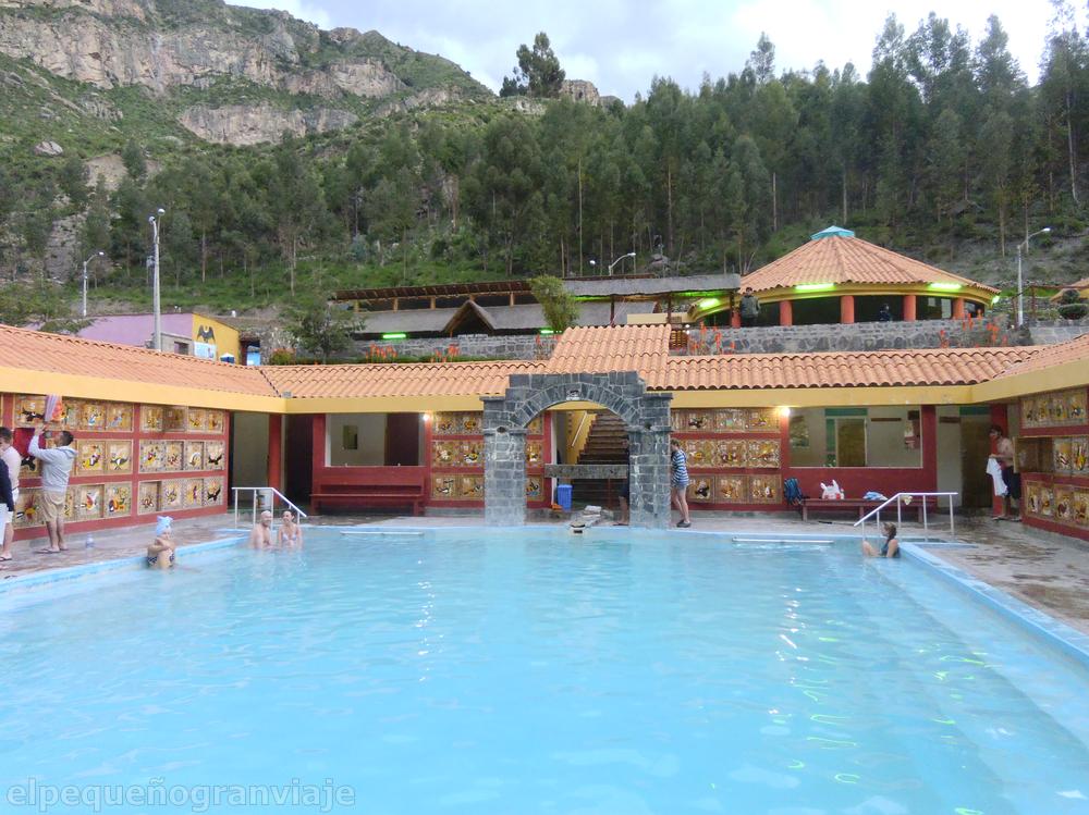 Termas La Calera Chivay Arequipa valle de Colca