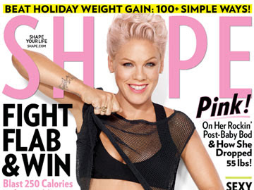 Pink's New Mom Weight Loss Tips