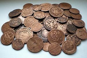 Золотые и серебряные монеты Николая 2, их стоимость и ...