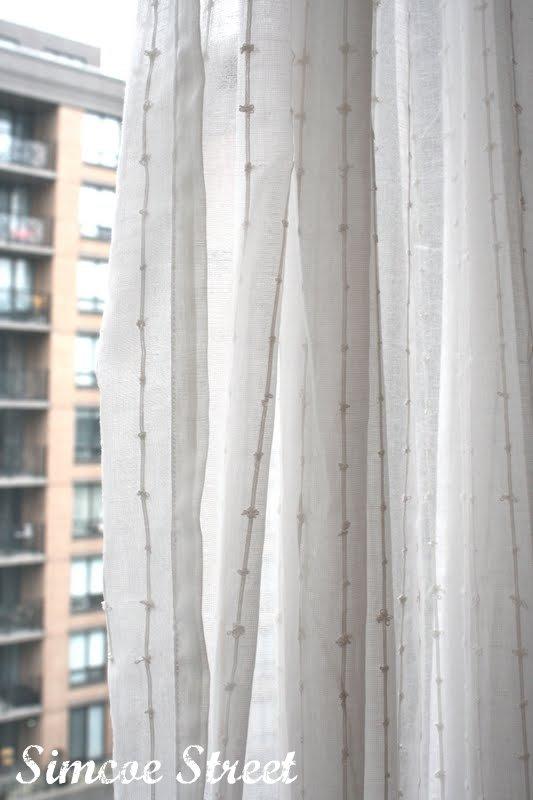 Simcoe Street Ikea Kitchen Curtains