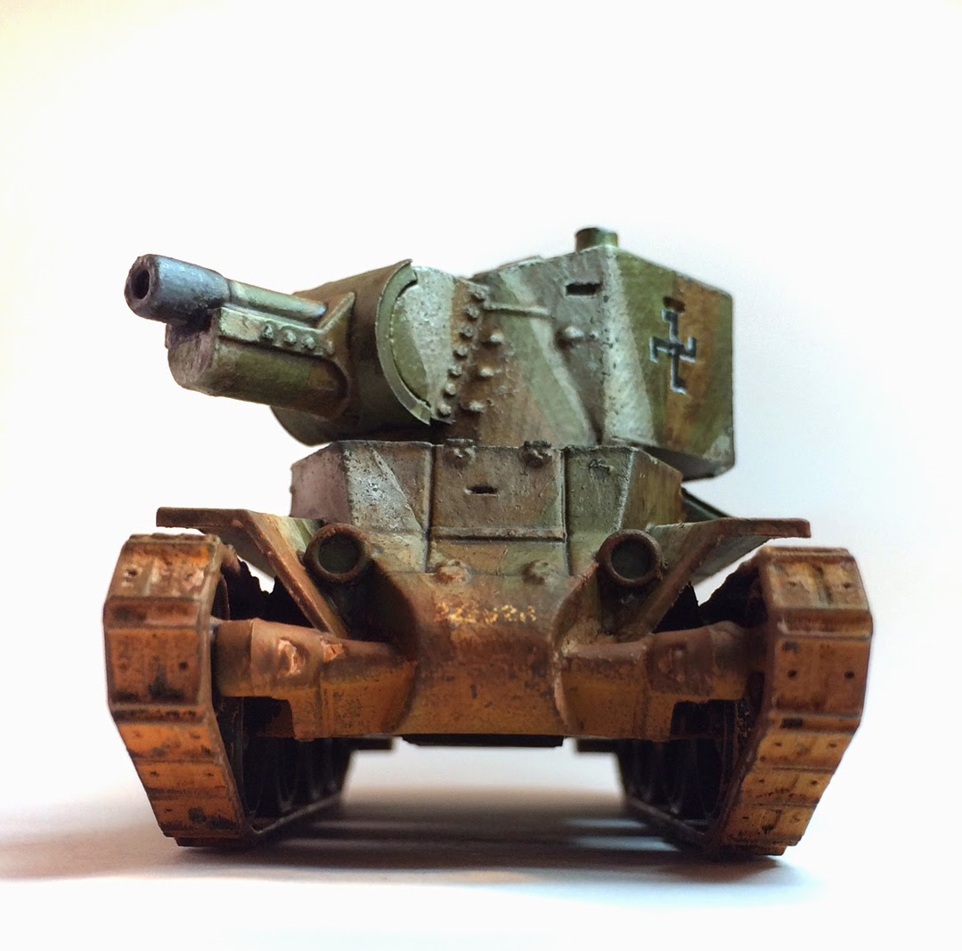 Bolt action trenchworx tank review part bell of lost
